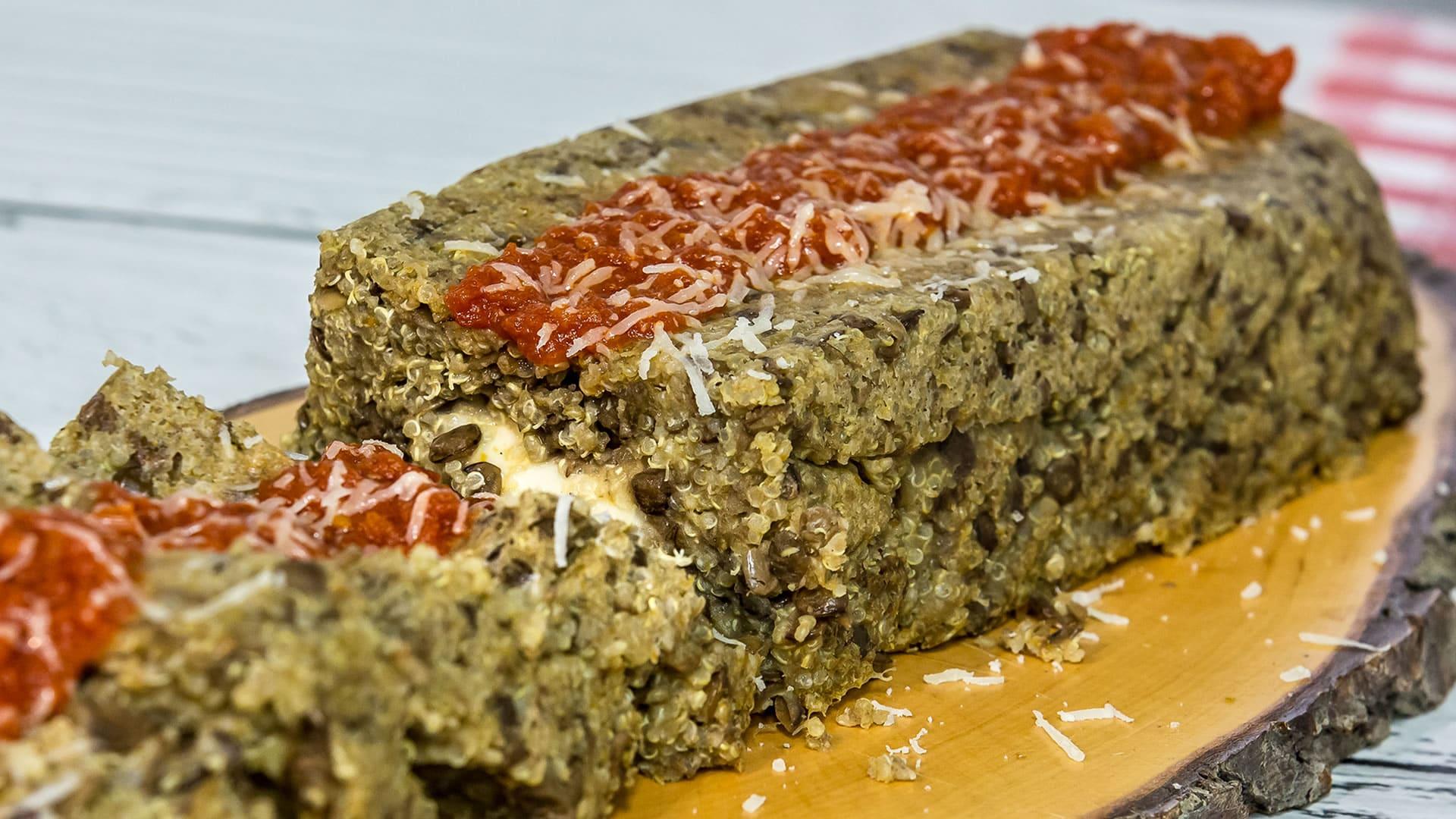 Foto Timballo di Quinoa e Lenticchie