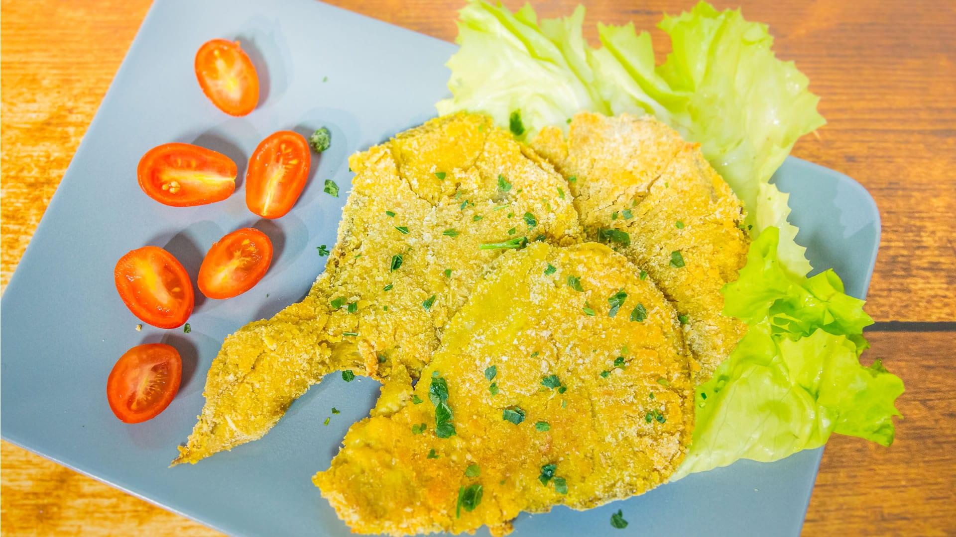 Foto Cotolette di Funghi - Sbrise Impanate