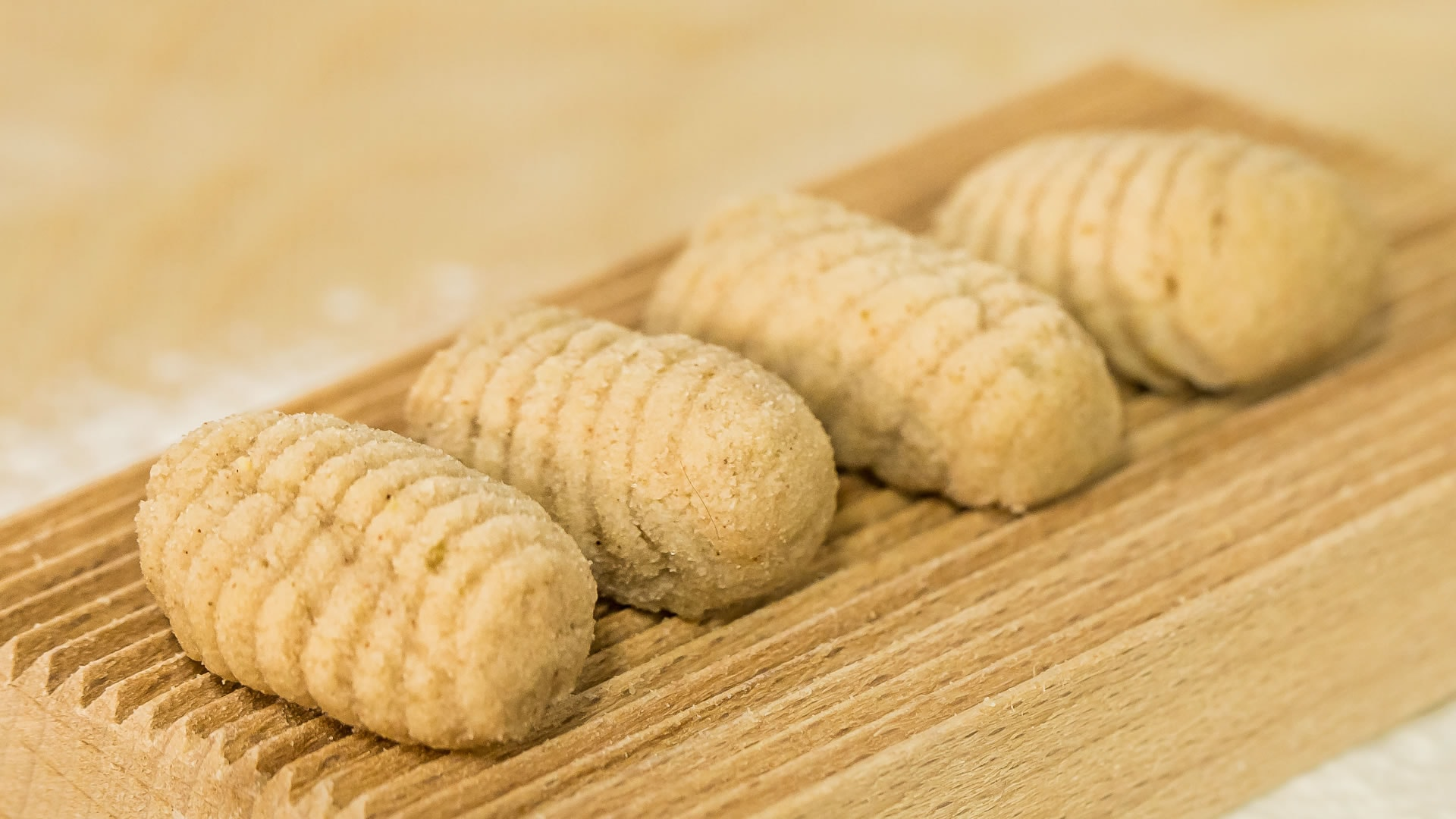 Foto Gnocchi di Patate e Castagne con i funghi