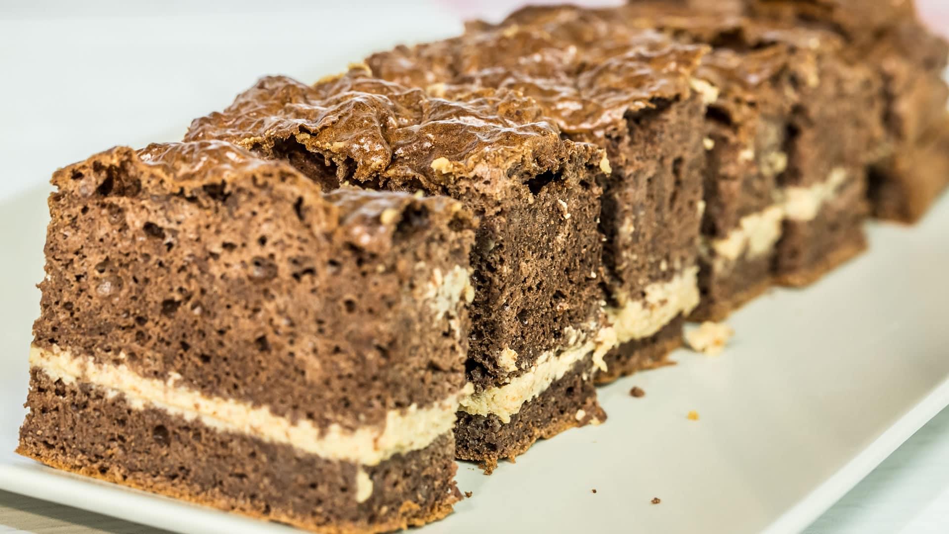 Foto Torta Proteica al Cioccolato