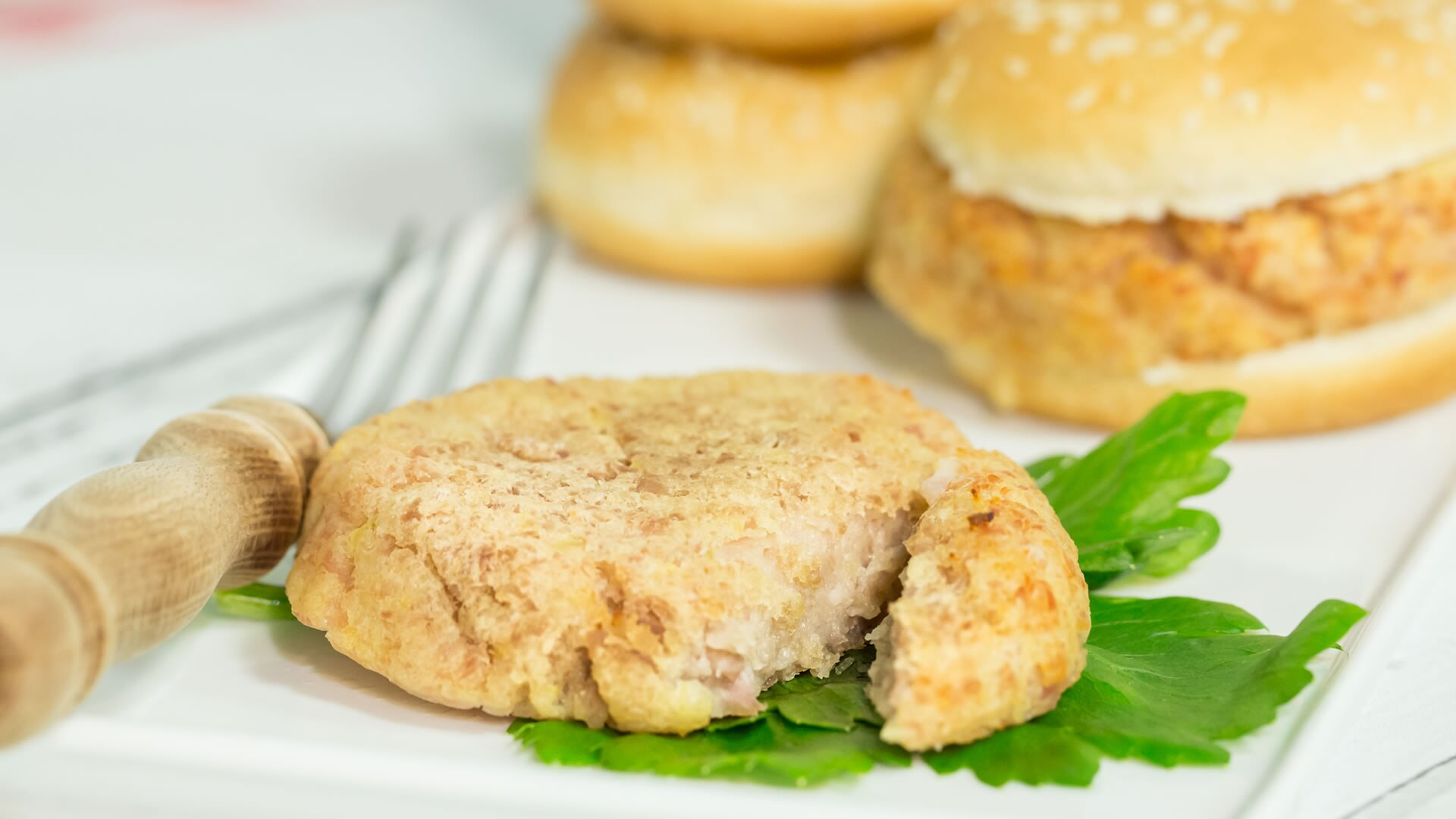 Foto Hamburger di Prosciutto