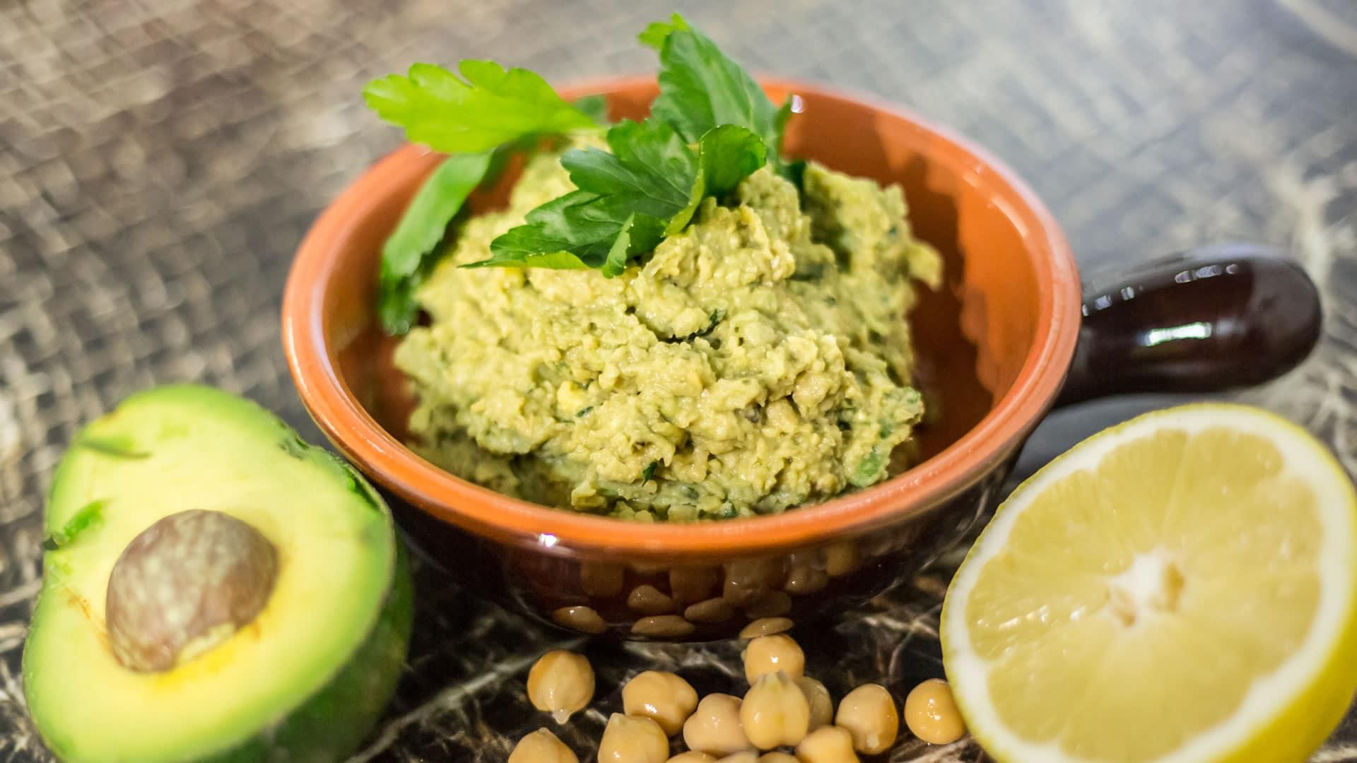 Foto Hummus di Ceci con Avocado