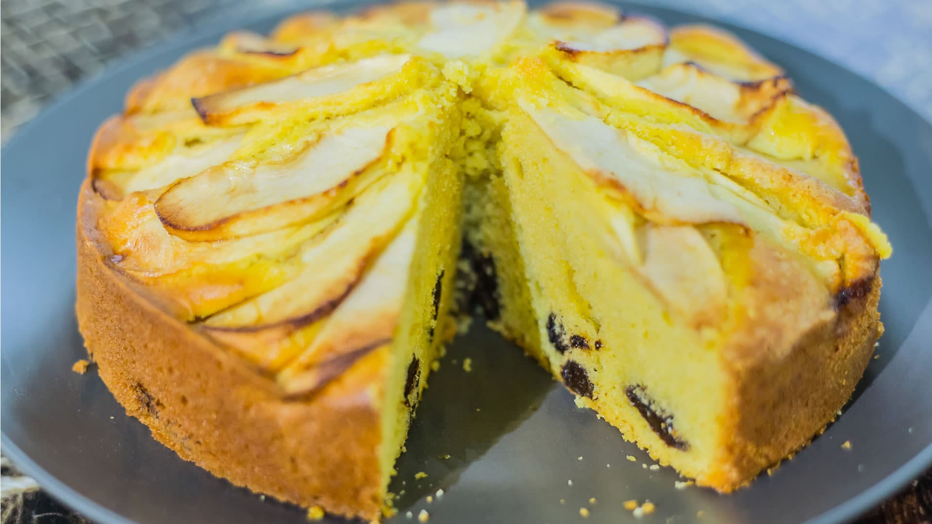 Foto Torta al Limone con Prugne Secche