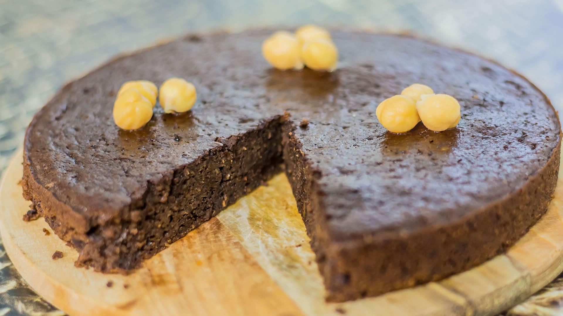 Foto Torta Cioccolata e Ceci - Senza Farina