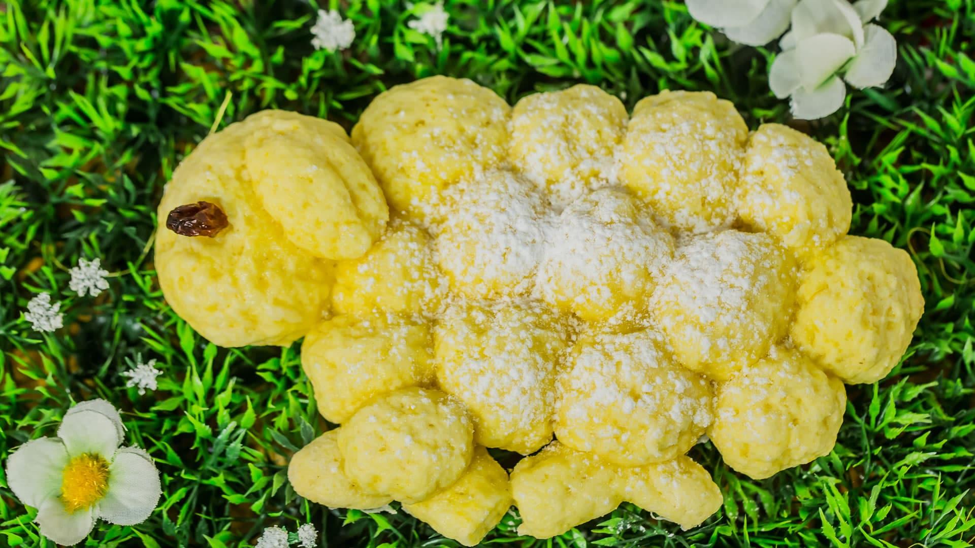 Foto Torta di Biscotti al Limone - Agnello di Pasqua