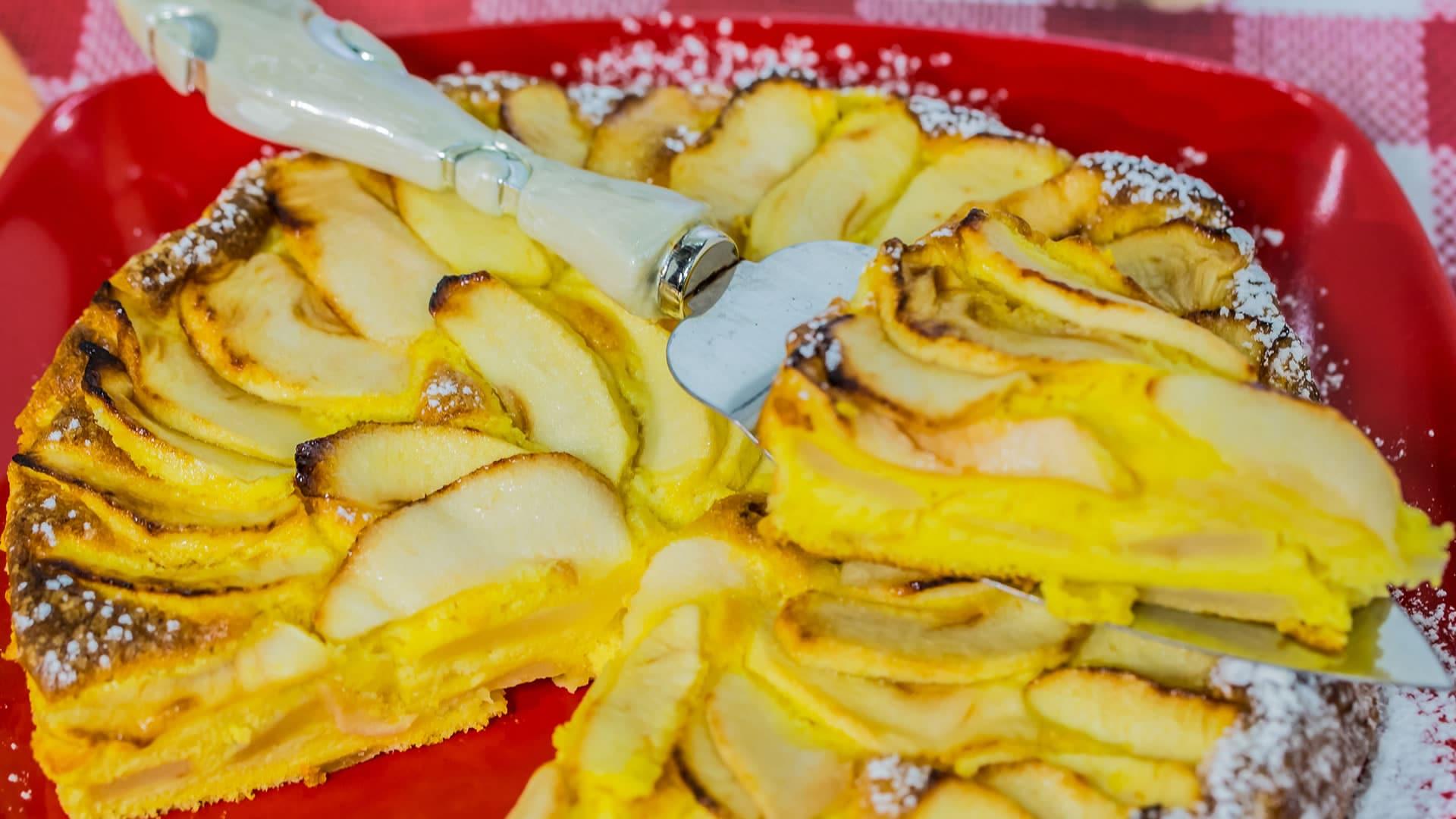 Foto Torta di Mele Ferrarese - Tenerina alle Mele