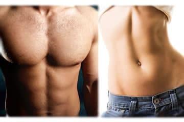 rimuovere velocemente il grasso dallo stomaco