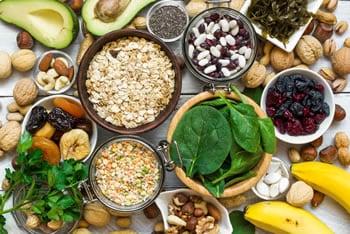 Dieta a base di magnesio e potassio