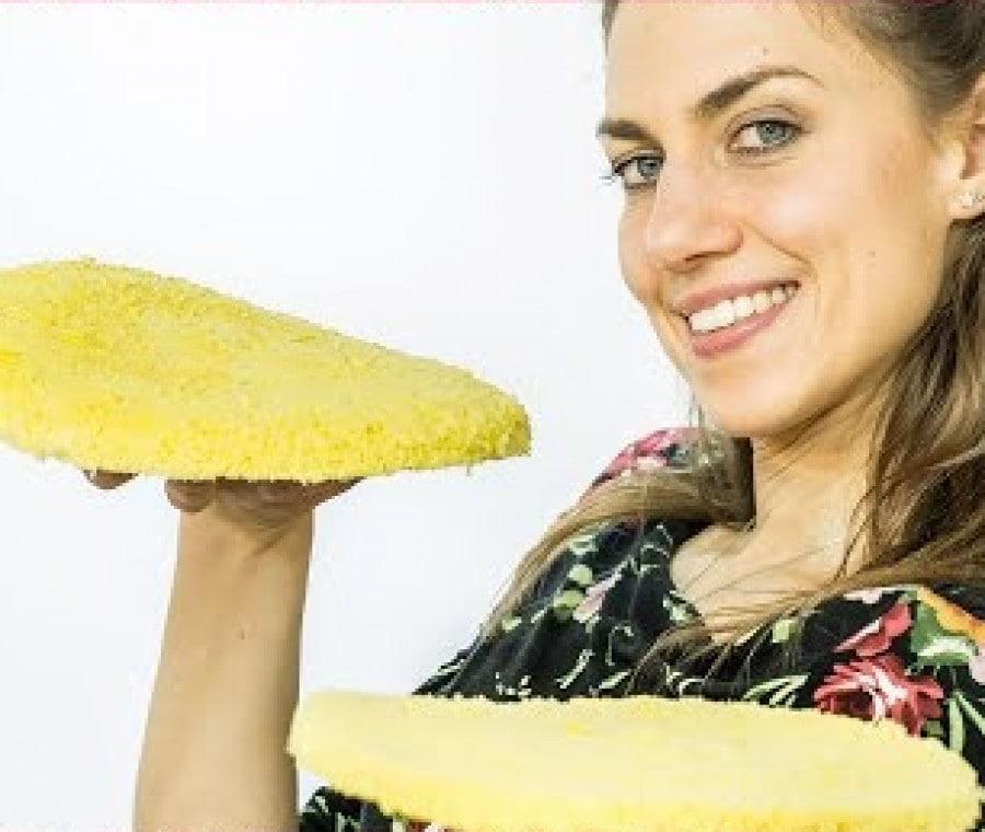Pan di Spagna al Microonde - Cotto in 6 minuti