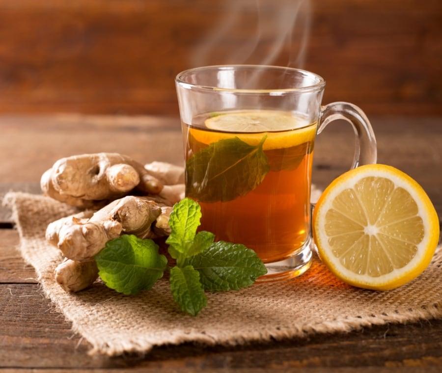 tè allo zenzero e curcuma per dimagrire