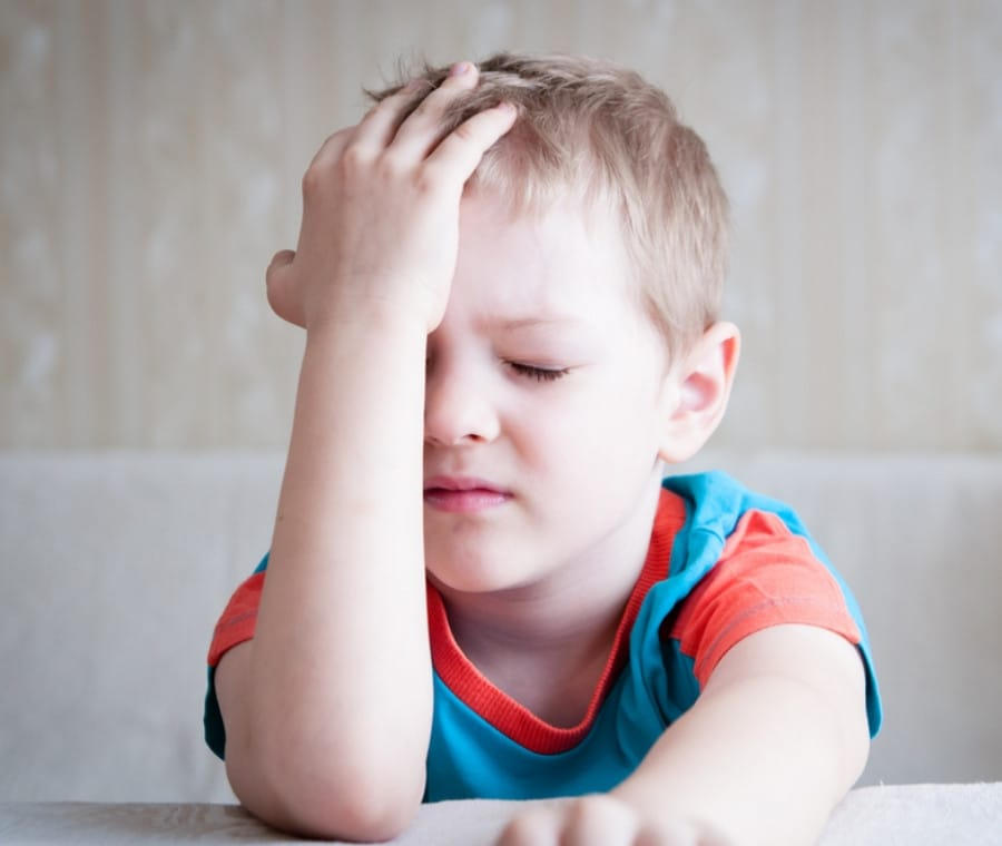 Mal di Testa nel Bambino: Cause e Cura