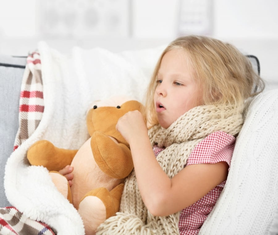 Tosse nel Bambino: Cause e Trattamento