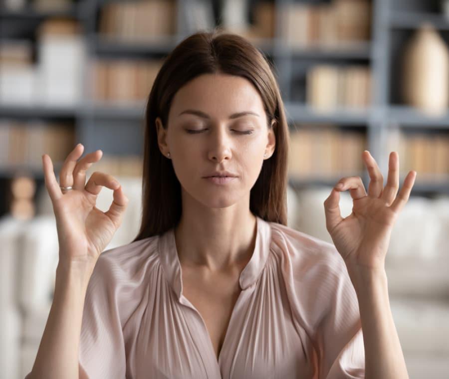 Come allontanare lo stress con la respirazione