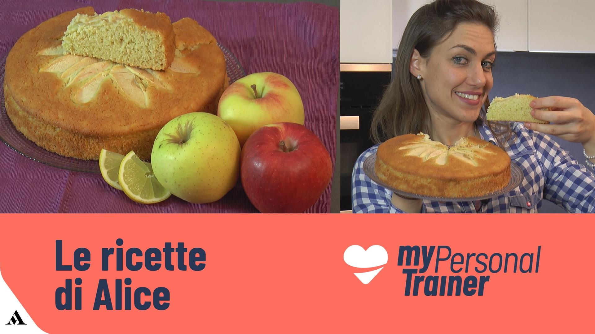 Foto Torta con Mele Grattugiate Soffice  - Senza Glutine