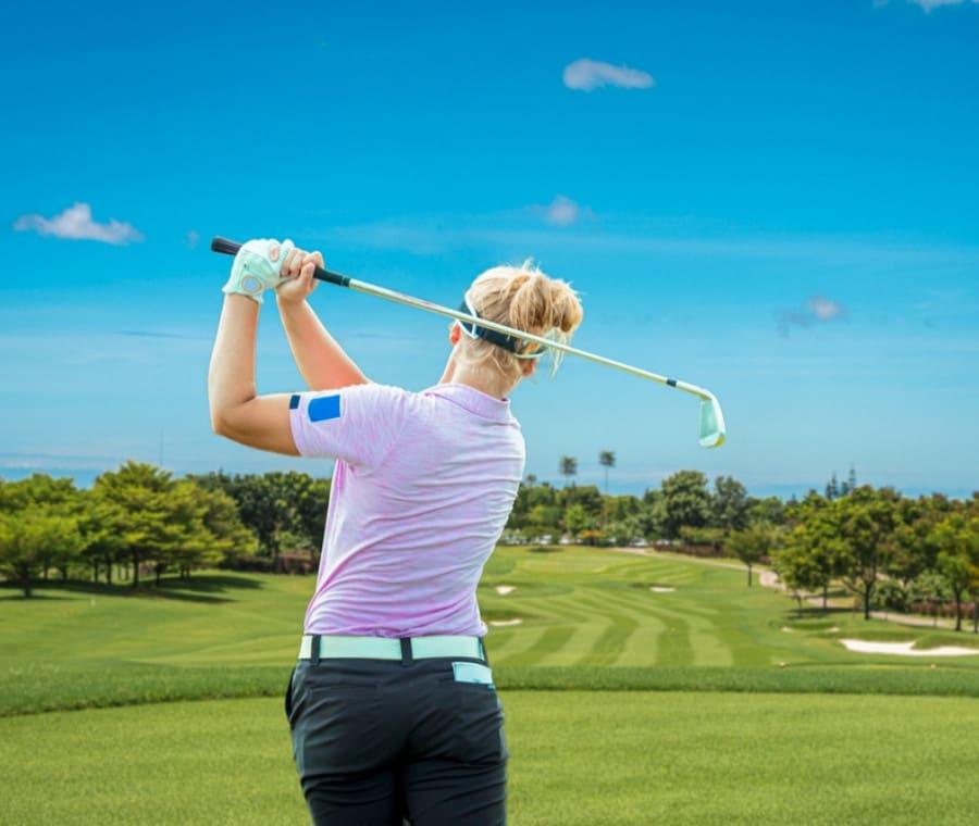 Golf: Allenamento del Golfista