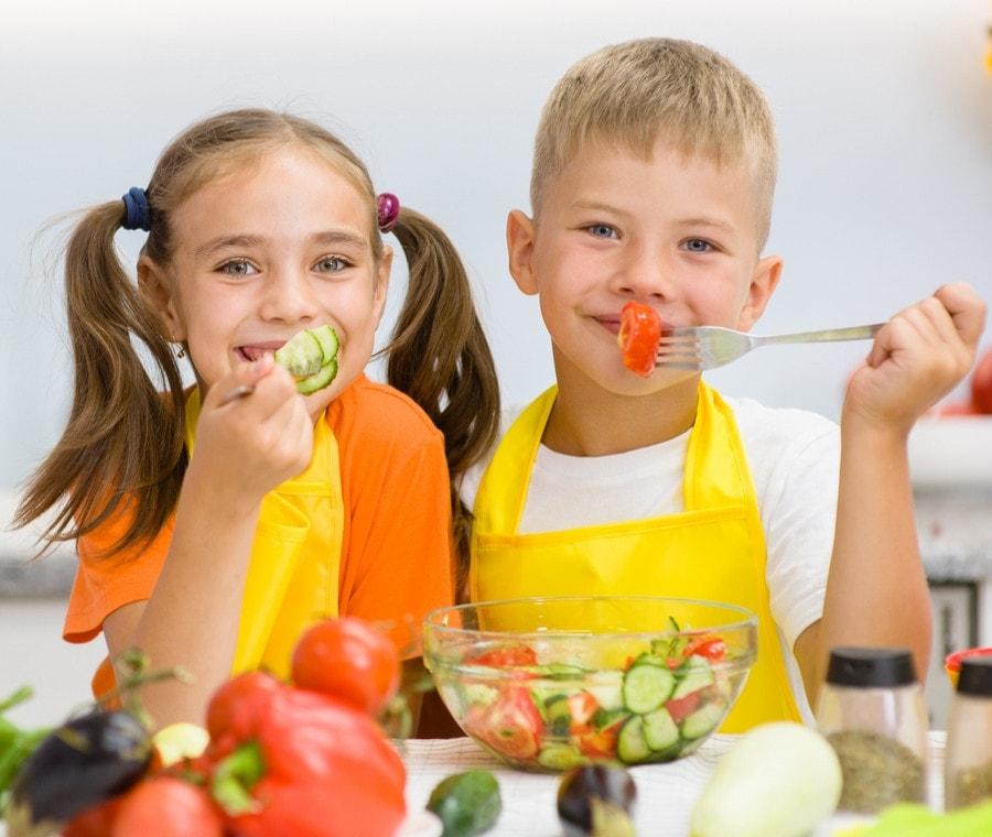 Dieta Vegetariana: È Adatta ai Bambini?