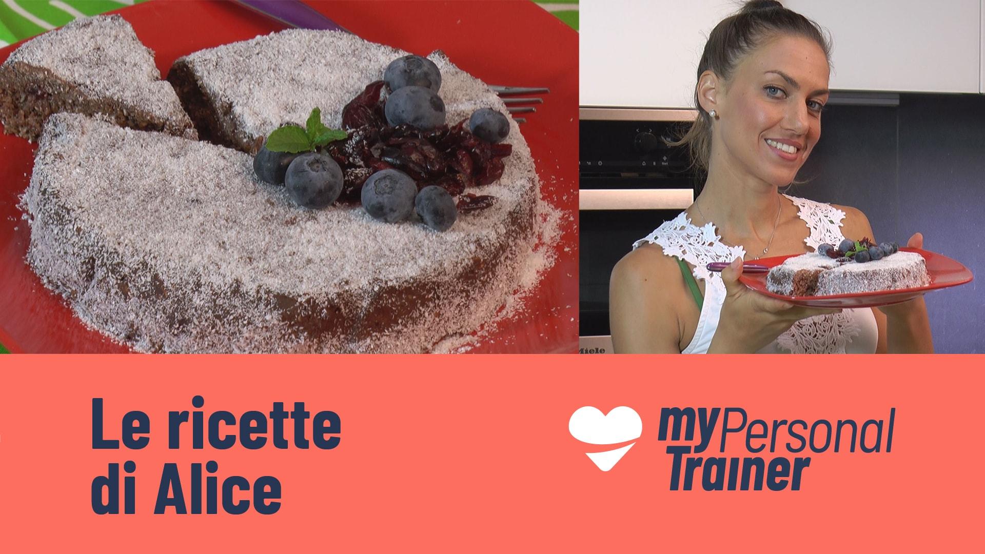 Foto Torta al Cioccolato Fredda Velocissima - Healthy chocolate cake oatmeal