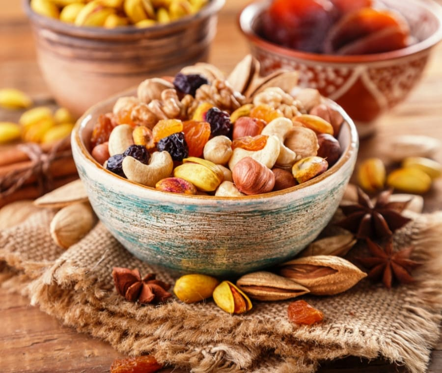 Frutta Secca: Valori Nutrizionali