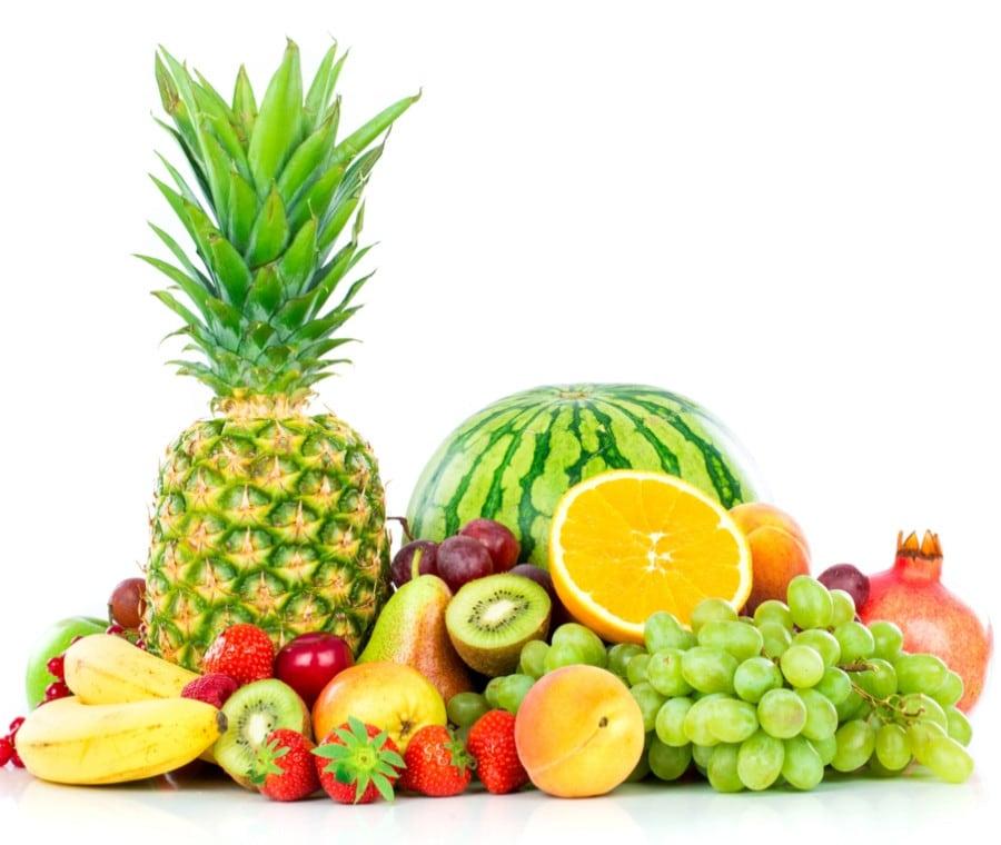 Porzioni ideali di frutta