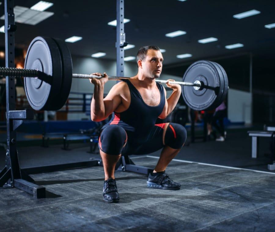 Test per le Fibre Muscolari delle Gambe: Squat