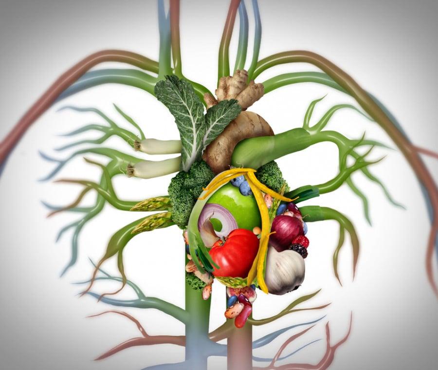 Arterie ostruite: i cibi che aiutano e prevengono