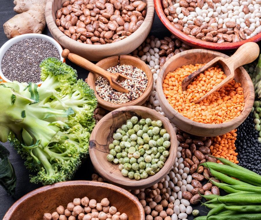 Proteine vegetali: funzioni, benefici e principali fonti
