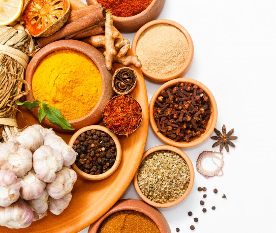 Combattere le infiammazioni con le spezie: le più indicate