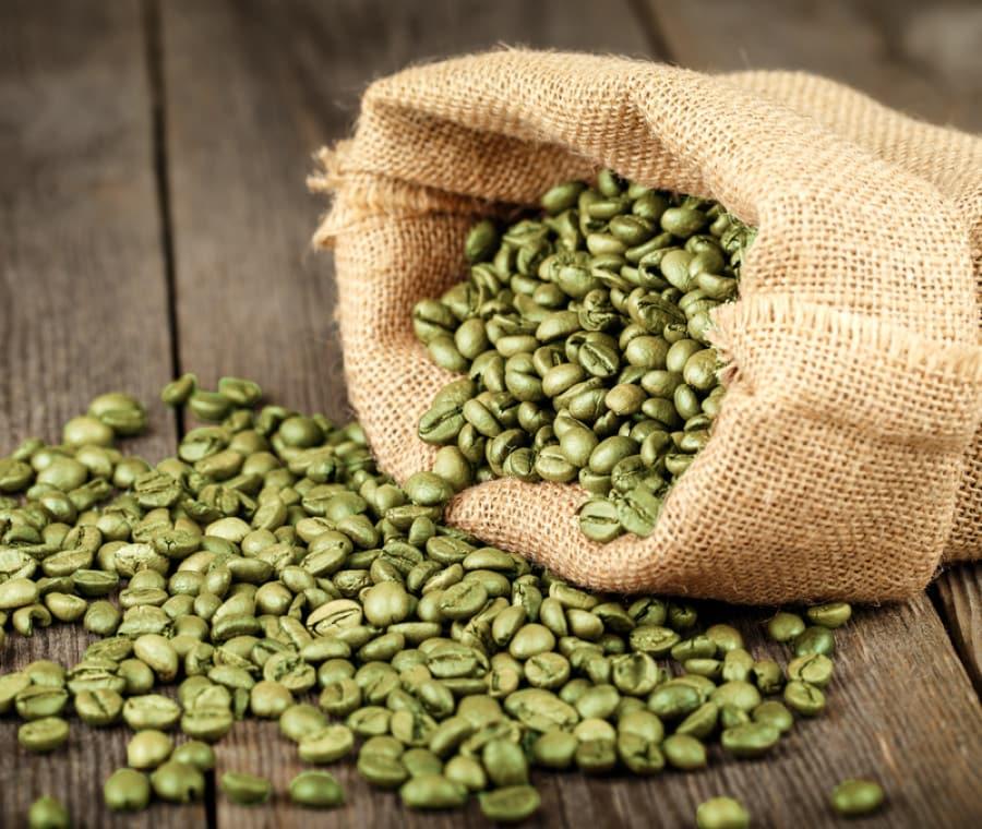 Coltura  e frodi del caffè verde crudo