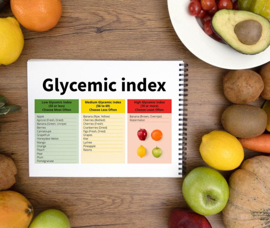 Tabella  indice glicemico