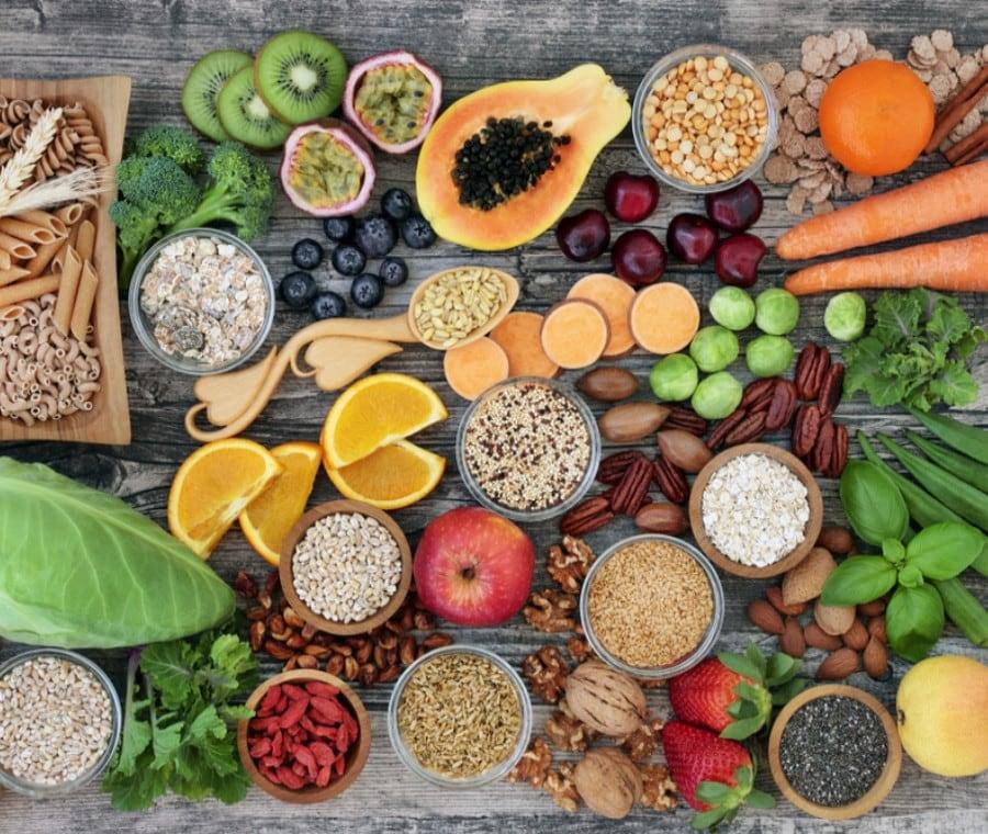 Contenuto in FIBRA degli alimenti