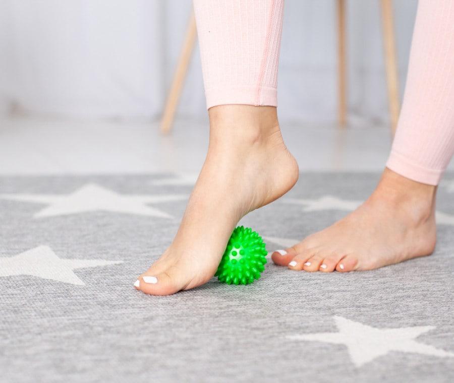 7 esercizi per i piedi da eseguire a casa