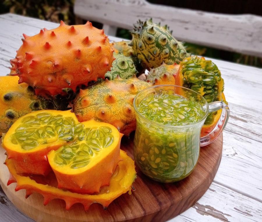 Kiwano: Cos'è e Benefici del melone cornuto