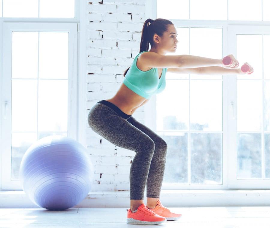 Squat: come proteggere le ginocchia