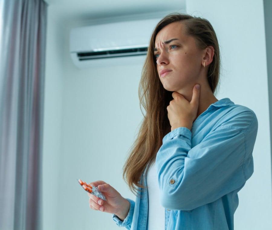 Virus da Aria Condizionata: Sintomi e Rimedi