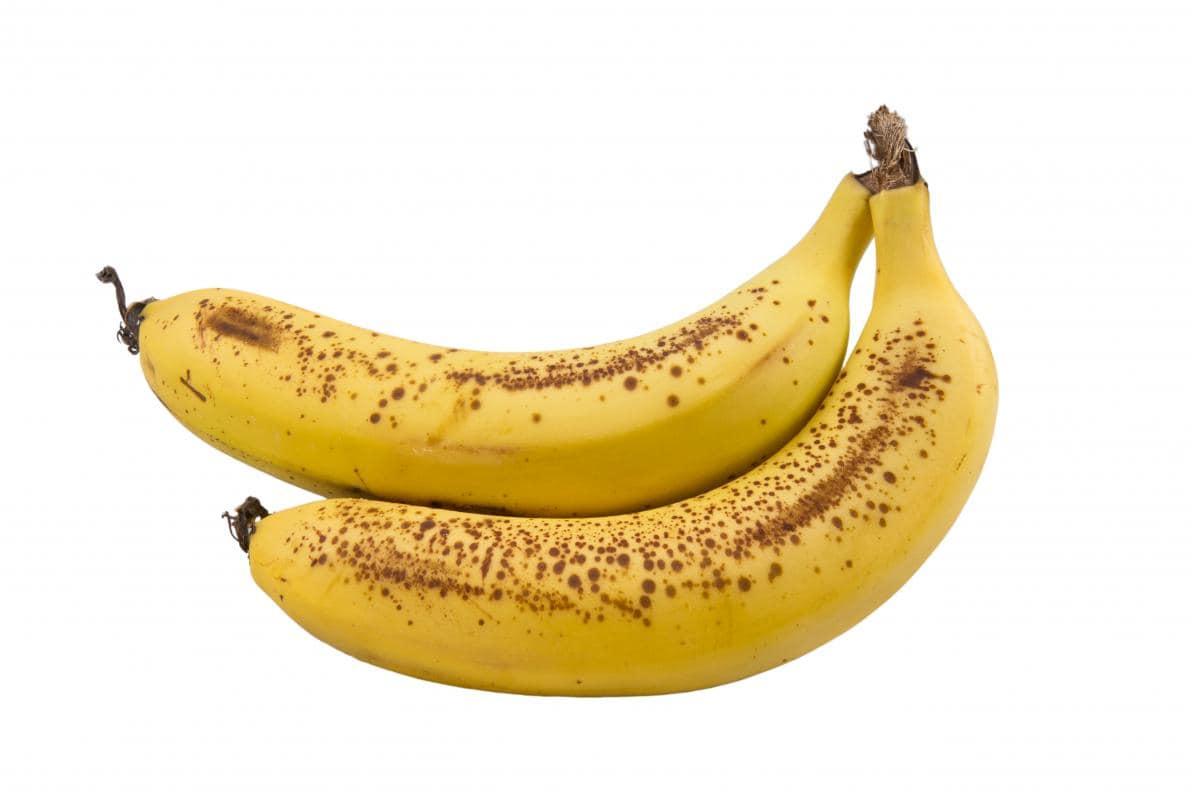 Macule scure sulla buccia delle Banane