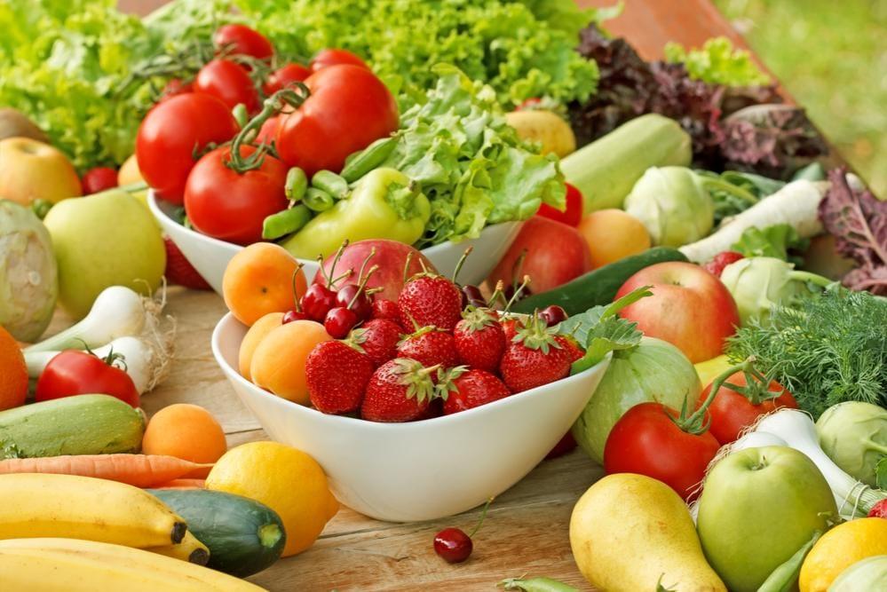 Dieta sana, frutta e verdura