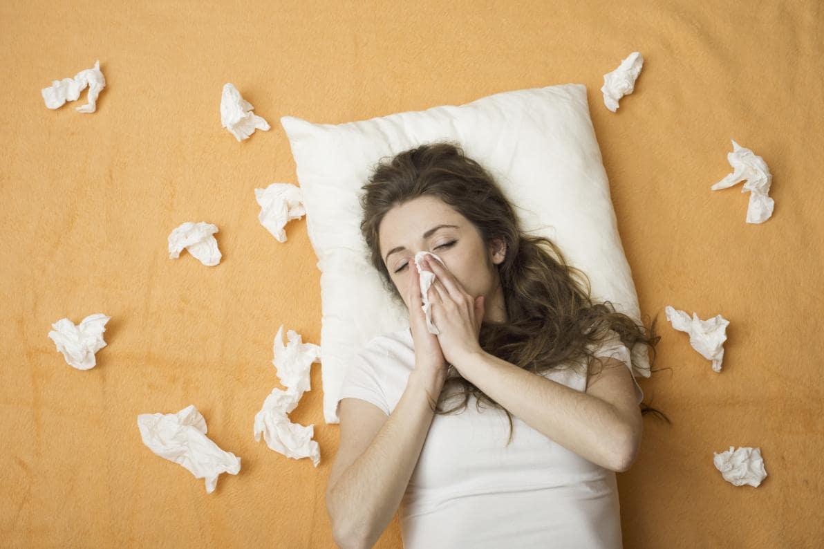 Malattie trasmesse attraverso gli starnuti