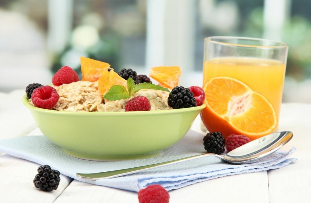 Frutta e cereali integrali