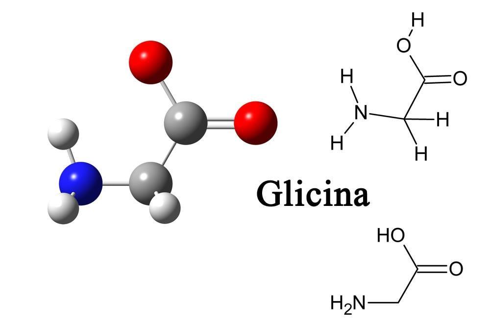 Molecola di glicina