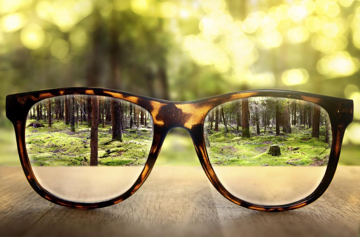 Occhiali e miopia