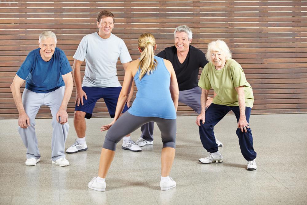 Attività di gruppo per persone anziane