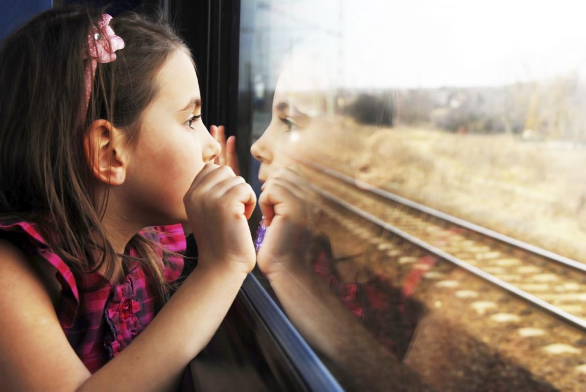 Inseguimento visivo in treno