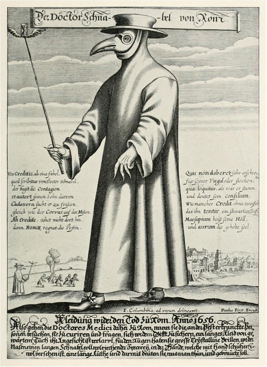 Abito del medico della peste