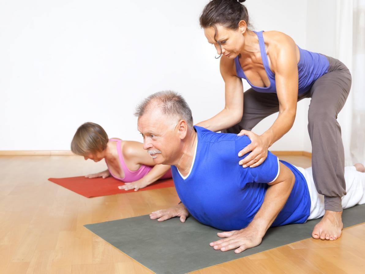Istruttrice Pilates