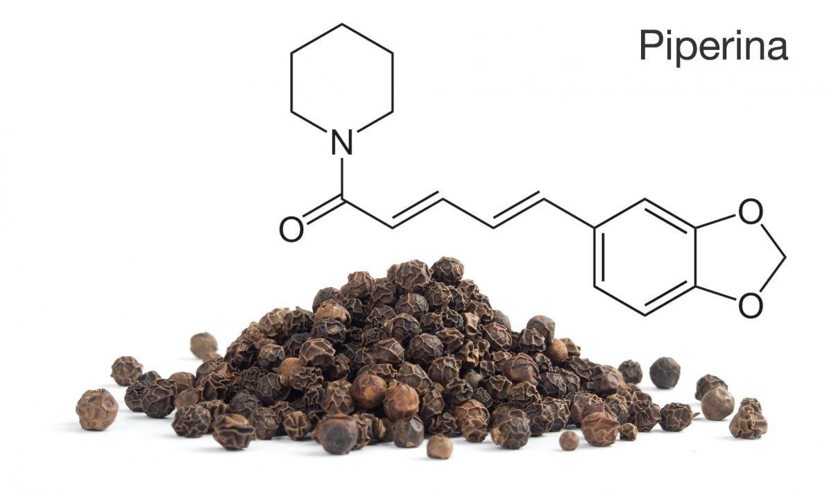 Piperina e Curcumina