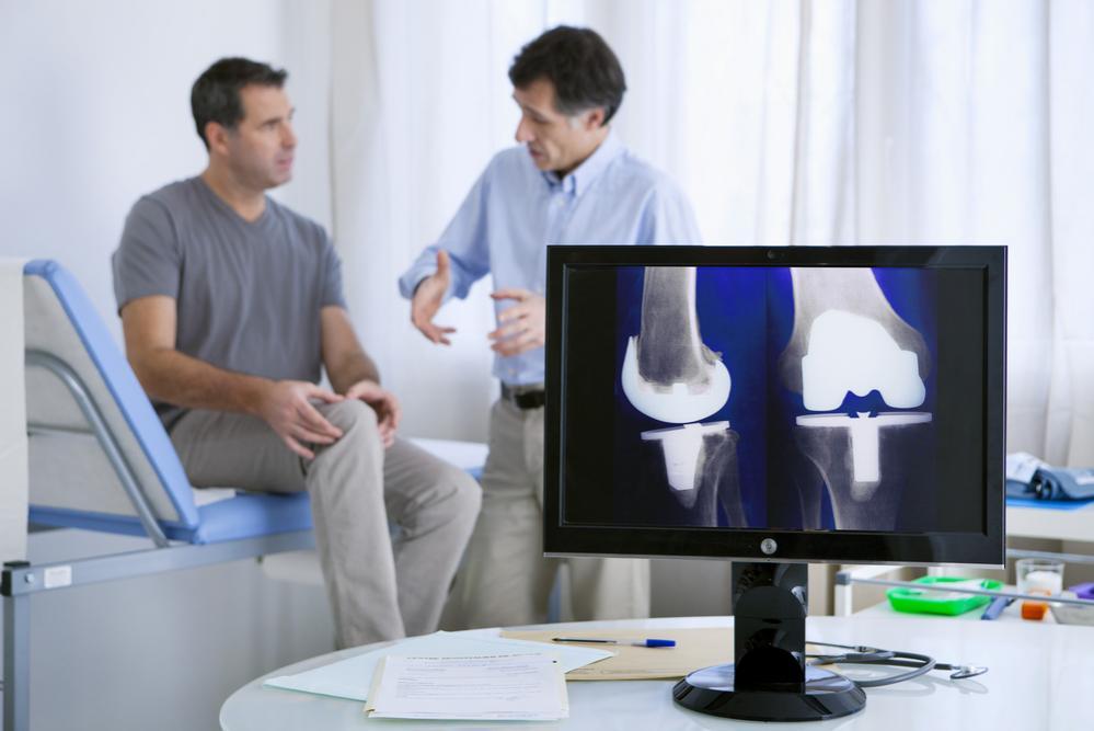 Controllo stato della protesi al ginocchio