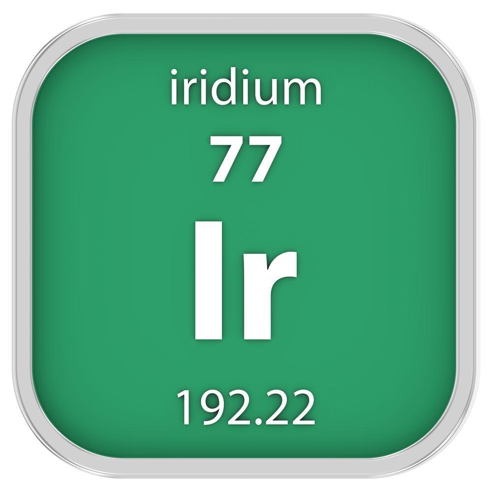 Iridio: elemento radioattivo per la brachiterapia