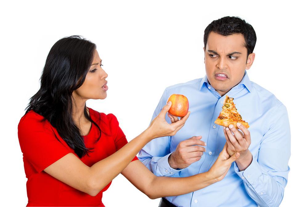 Adottare dieta sana
