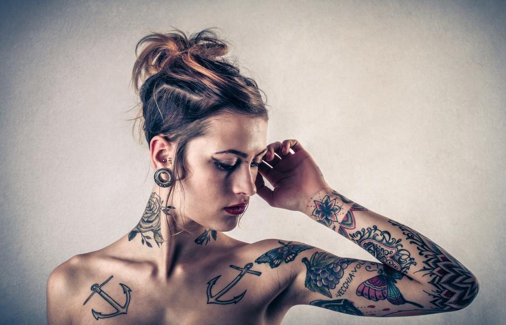 Le zone più dolorose da tatuare