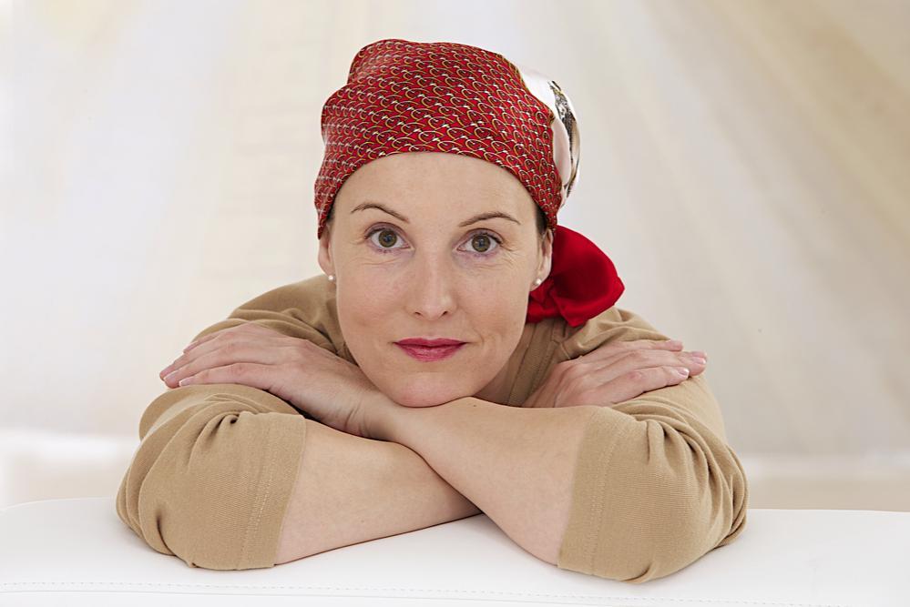 Donna in chemioterapia